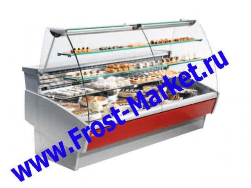 Витрина среднетемпературная кондитерская б у Oscartielle Sweet 300 LX