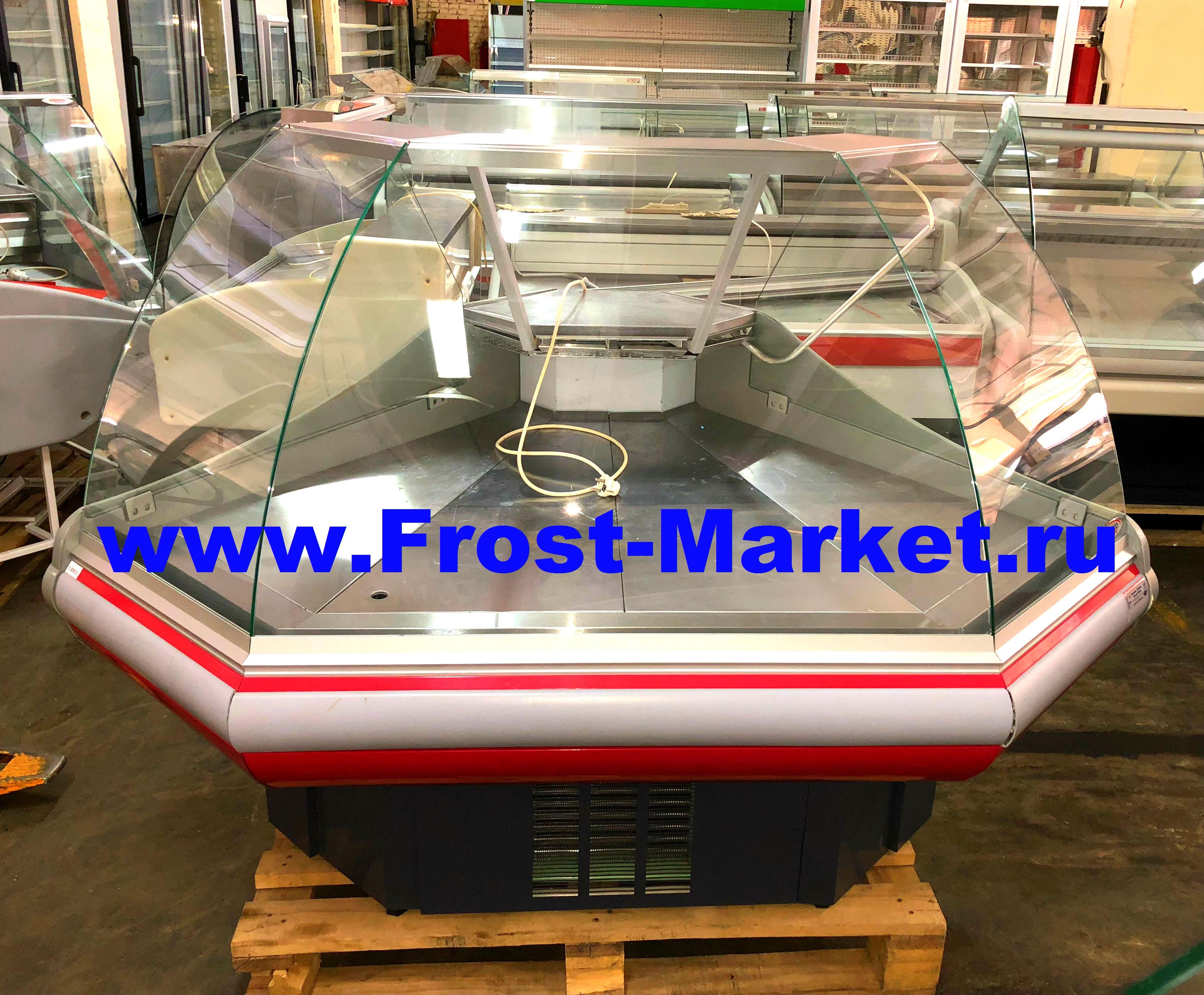 Холодильная угловая витрина б у Enteco Вилия УН 90 ВС