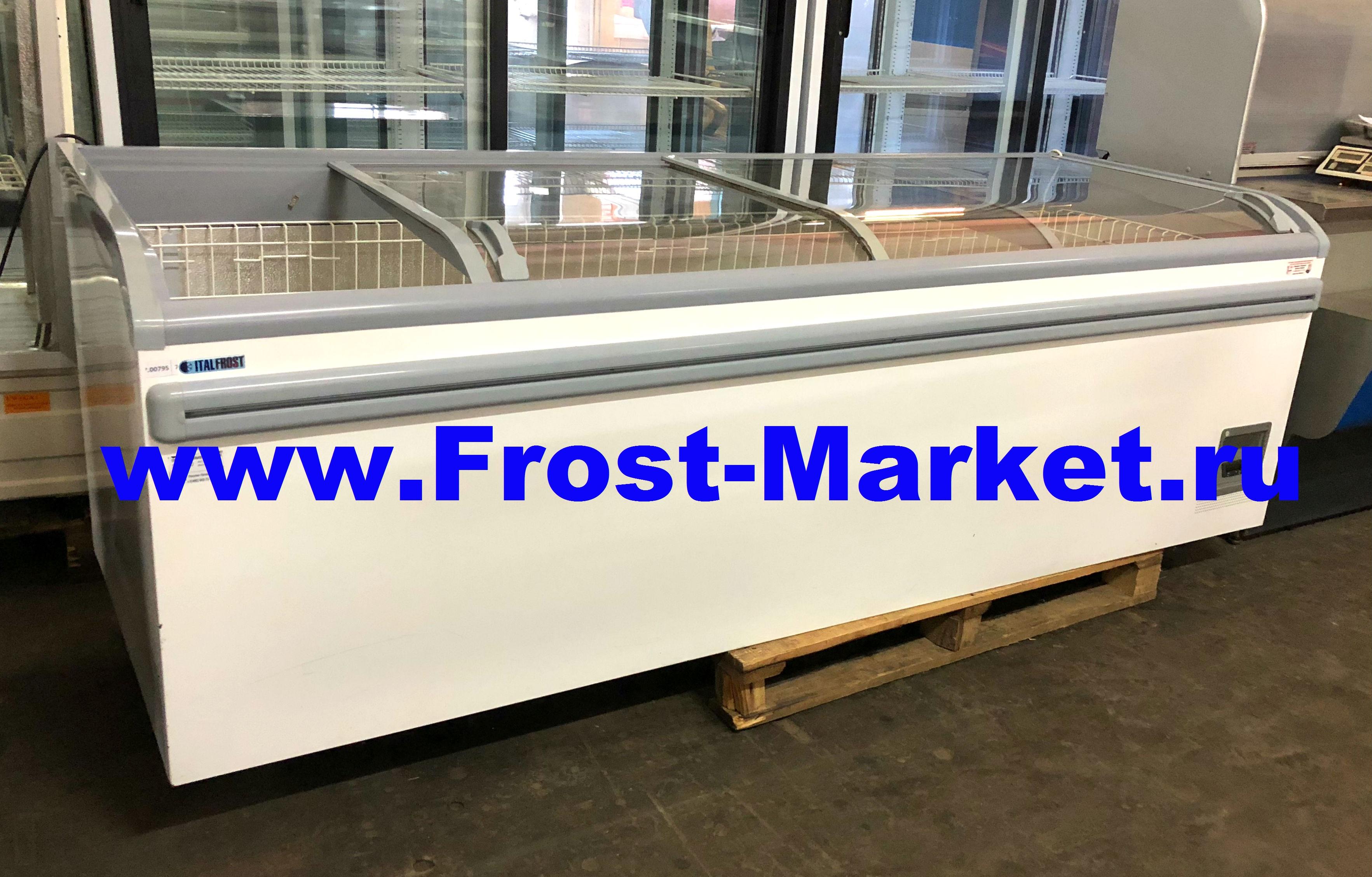 Морозильная ларь-бонета б у Italfrost ЛВН 2500