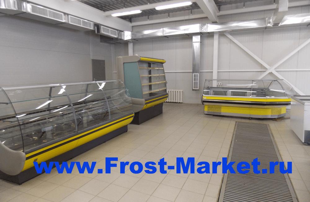 Обновление ассортимента торгового холодильного оборудования бу