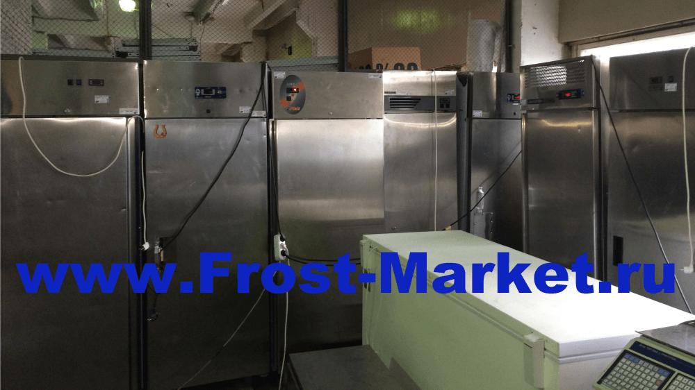 Холодильные и морозильные шкафы бу из нержавеющей стали