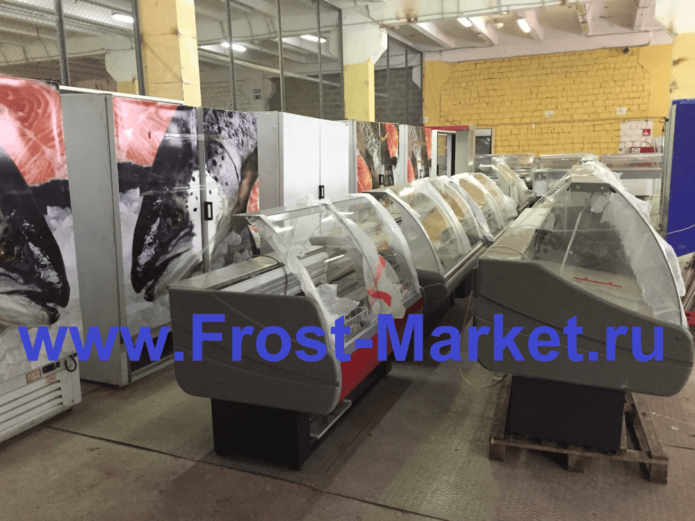 Обновление ассортимента торгового холодильного оборудования б/у