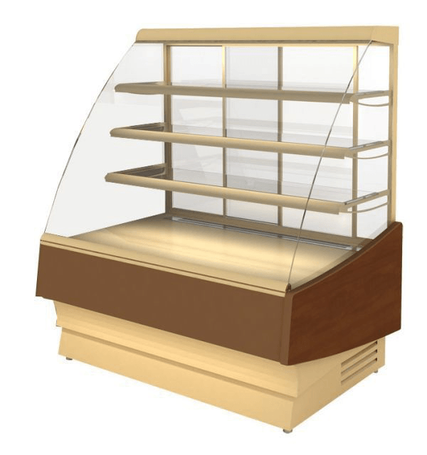 Новое поступление кондитерских витрин бу Cryspi Elegia 1240