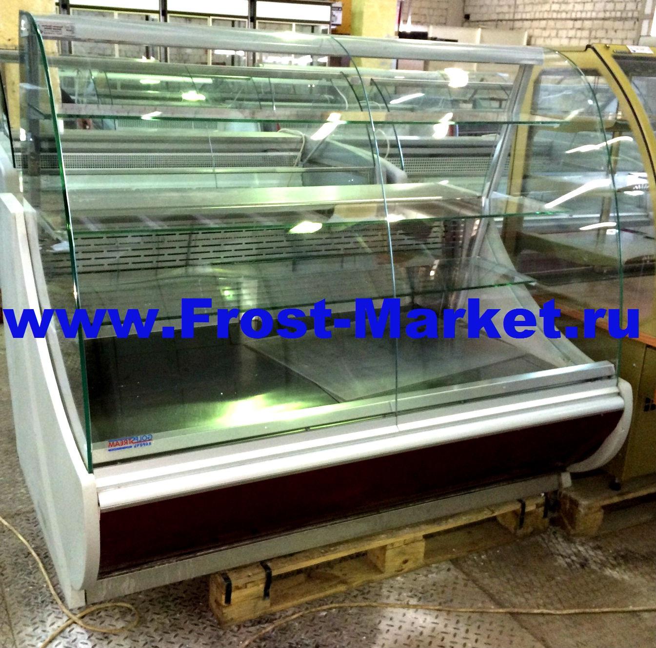 Витрина кондитерская холодильная б у Golfstream Нарочь 150 ВВК