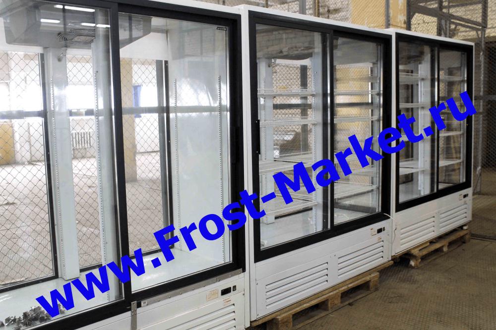 Новое поступление холодильных шкафов купе Б/У (остекление 2-х и 4-х сторон)