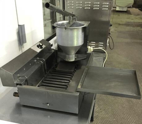Пончиковый аппарат б у Сиком ЭФ-12НЧ + ручной дозатор