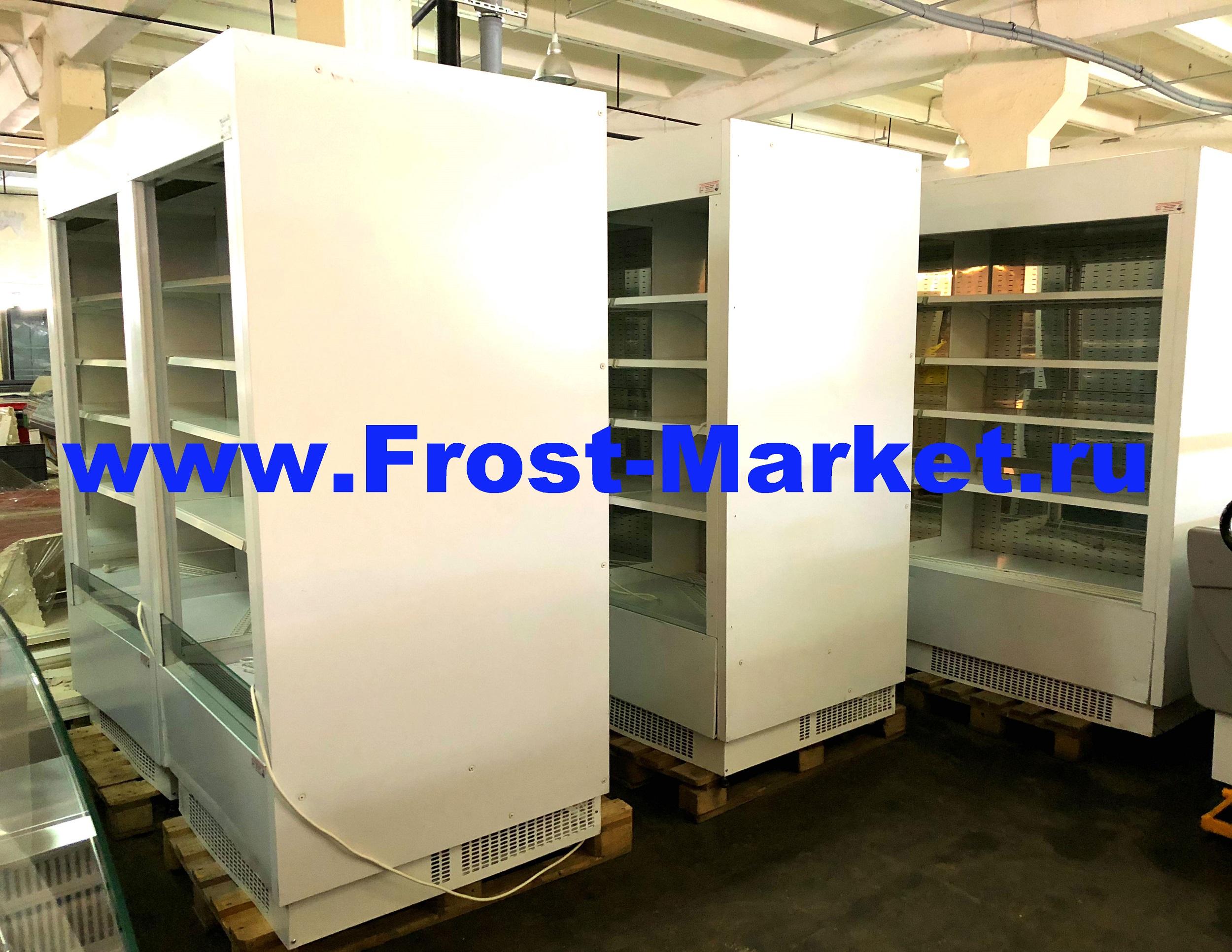 Обновление ассортимента холодильных горок бу Brandford