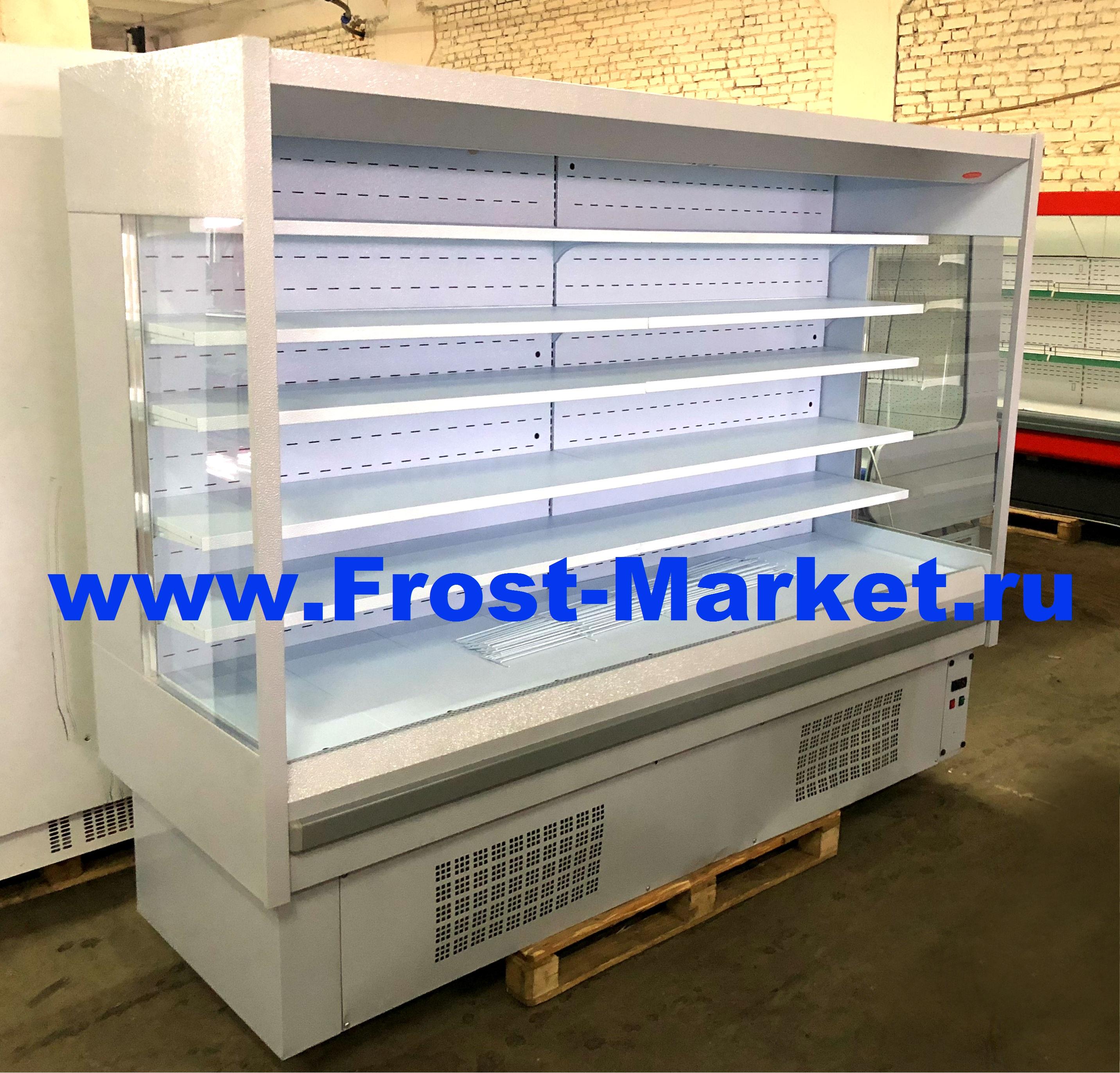 Обновление ассортимента холодильных горок бу Кифато Мадрид гастроном.